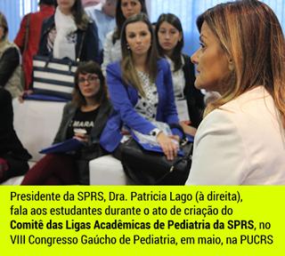 Patricia Lago Ligas de Pediatria do RS