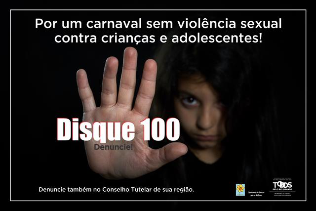 POR UM CARNAVAL SEM VIOLÊNCIA SEXUAL Sociedade de Pediatria do RS Carnaval 2017