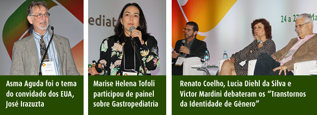 José Irazuzta, Marise Helena Tofoli, Renato Santos Coelho, Victor Mardini