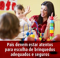 brinquedos seguros dia da criança SPRS