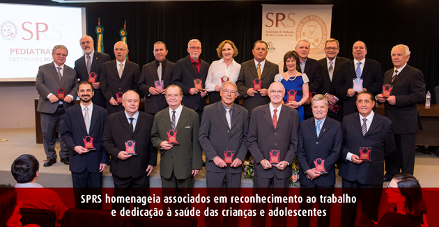 Homenageados SPRS 2017