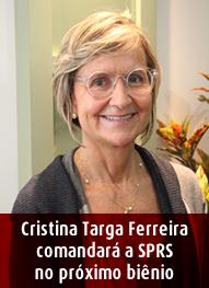 Cristina Traga Ferreira Presidente SPRS 2018-2019