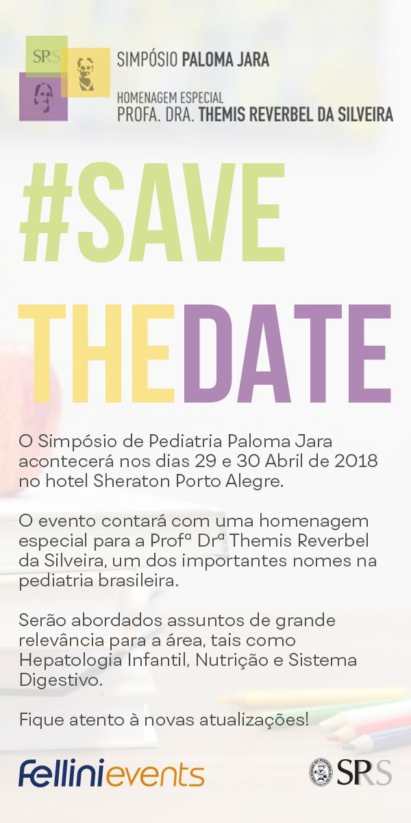 Simpósio Paloma Jara, 29 e 30 de Abril de 2018, Porto Alegr,e RS, SPRS