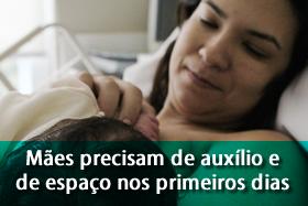 visitas ao recém-nascido SPRS
