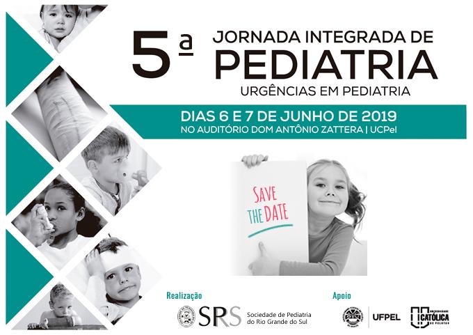 5a Jornada Integrada de Pediatria de Pelotas 2019