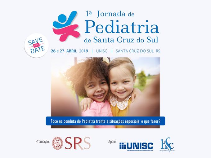 1a Jornada de Pediatria de Santa Cruz do Sul SPRS