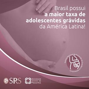 Semana de Prevenção à Gravidez na Adolescência 2019 SPRS SGO SBP
