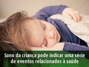 Qualidade do sono da criança SPRS
