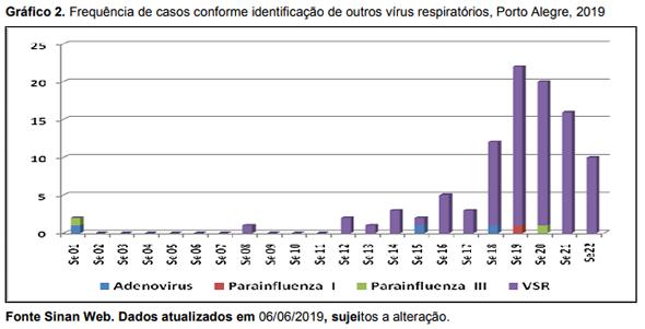 Gripe 2019 Porto Alegre SPRS