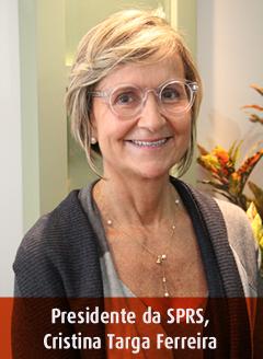 Pediatra Cristina Targa Ferreira Presidente SPRS
