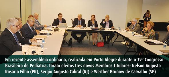 Academia Brasileira de Pediatria - Assembleia em Porto Alegre - outubro 2019 - SPRS