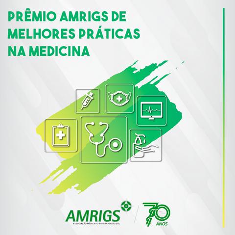 Premio AMRIGS Melhores Praticas na Medicina 2021