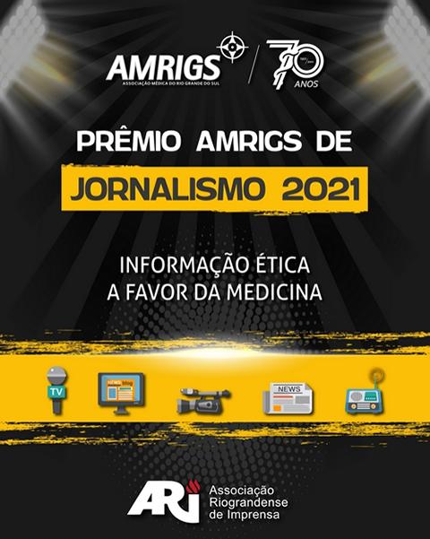 Premio AMRIGS Jornalismo 2021