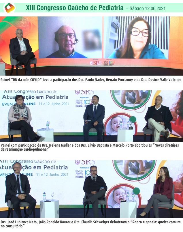 XIII Congresso Gaúcho de Atualização em Pediatria 2021 SPRS